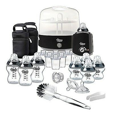 Tommee Tippee Complete Feeding Set (Black Closer to Nature) Black