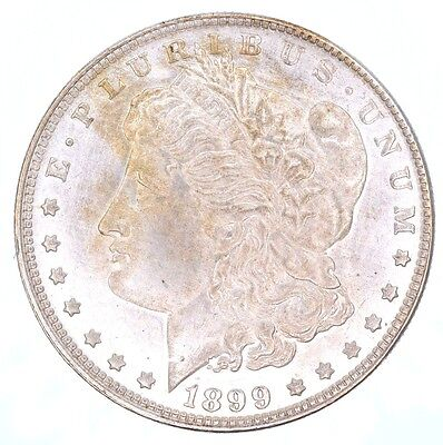 1899 S Morgan Silver Dollar Possible Counterfeit Suspicious, Cleaned?