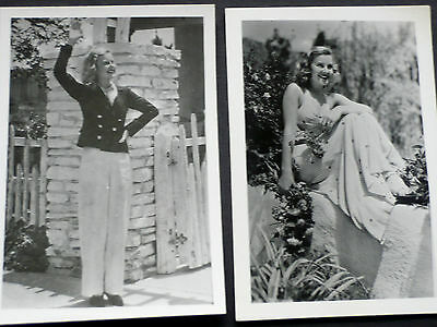 2 seltene Fotos von Lilian Harvey in Amerika 1933