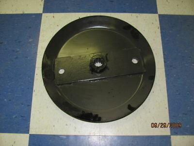 HOWSE Stump Jumper Flywheel Blade Pan Round Blade Bolt Holes 12 Splined Hub 40HP