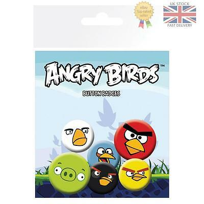 Angry Birds Button Badge Set Official Licensed Product