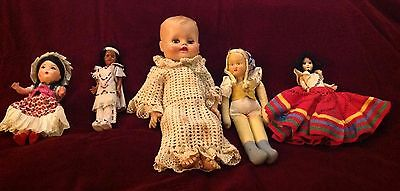 Vintage Doll Lot of Various Clothes, Sizes & Ethnicities!