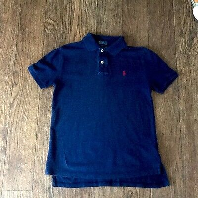 Boys Polo By Ralph Lauren Polo Shirt Size Small Age 8-9 Years