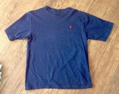 Boys Polo By Ralph Lauren Tshirt Size Small Age 8-9 Years