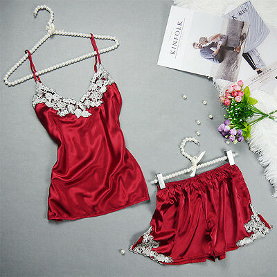 New Women's Sexy Underwear Lace Pyjamas Lingerie Dress Sleepwear Set Nightwear