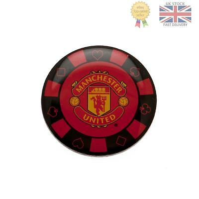 Manchester United F.C. Poker Chip Badge Official Licensed Product