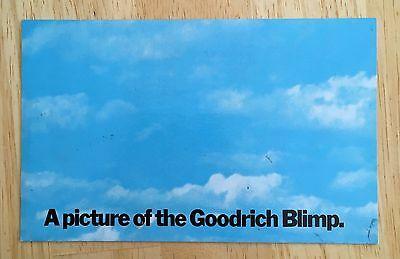"""A Picture of Goodrich Blimp """"The Other Guys"""" Akron Ohio Marketing Advertising"""