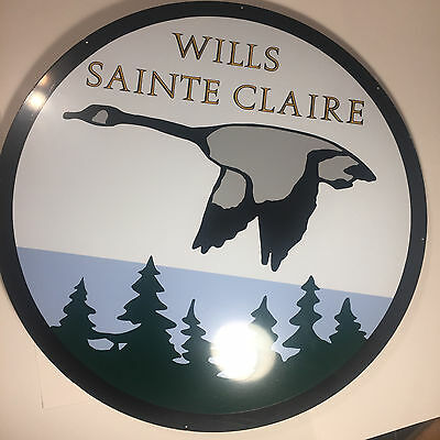 Wills Sainte Claire Heavy Metal Gorgeous!! 26 inches across weighing around 7Lbs