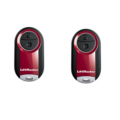 374UT Remote Control - Liftmaster 374UT 2-Pack Transmitter Mini Keychain Clicker