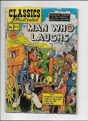 Classics Illustrated #71 Man Who Laughs HRN 71 (O) GD+