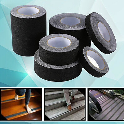 US Floor Safety Non Skid Tape Roll Anti Slip Adhesive Stickers High Grip 5 Size