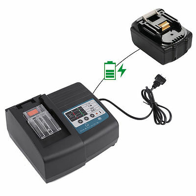 Makita DC18RC Fast Lithium-Ion Battery Charger for BL1830/BL1840/BL1850 BatteryJ