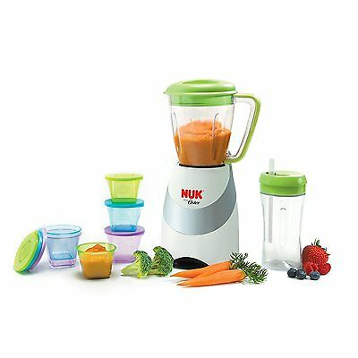 NUK Smoothie and Baby Food Maker with Accessories - Oster, 20 pieces