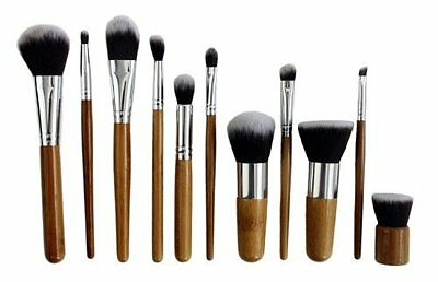 JVJ Kit Set Professionale 11 Pennelli Make up Brushes Trucco + Cosmetici Custodi