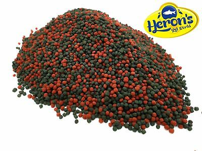 HERONS Cichlid Duo Pellets OMEGA-3 COLOUR ENHANCING PREMIUM MALAWI FISH FOOD