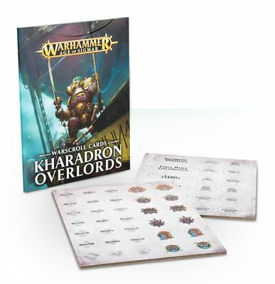 Kharadron Overlords Warscroll Cards (Deutsch) Games Workshop Age of Sigmar AoS