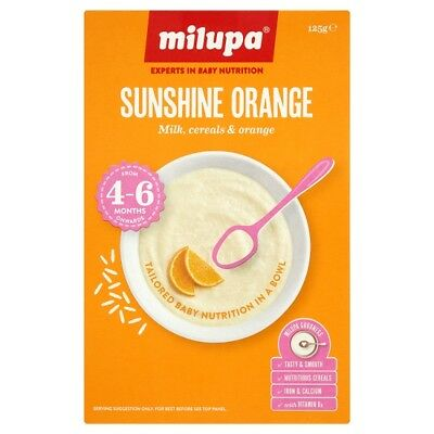 Milupa Breakfast Sunshine Orange 4-6 Months 125 Grams