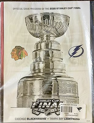 Stanley Cup 2015 NHL Chicago Blackhawks vs Tampa Bay Lightning Program
