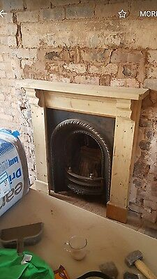Victorian Cast Iron Fireplace and surround