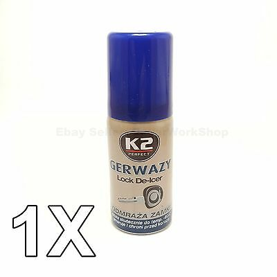 K2 GERWAZY 50 ml Lock Defroster. Opens any lock.