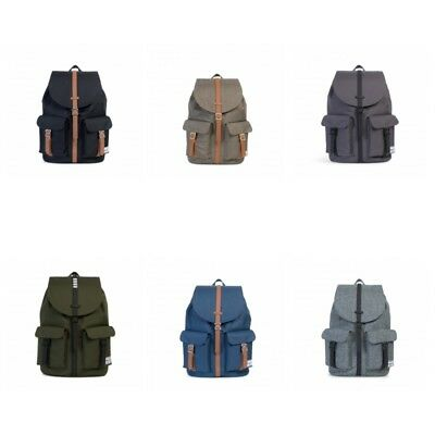 Herschel Dawson 20,5 L Rucksack Backpack Charcoal black forest navy schwarz tan