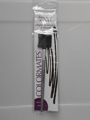 Colormates Brow Brush And Comb.