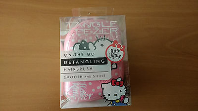 Cepillo Tangle Teezer Peine Hello Kitty Pink Original Hair Brush Compact Niños