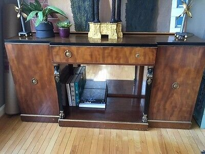 Antique American Art Deco Buffet/Sideboard by Irwin Circa 1930-40