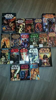 Star Wars 19 Book Lot Hardcover / Paperback / 1st Editions