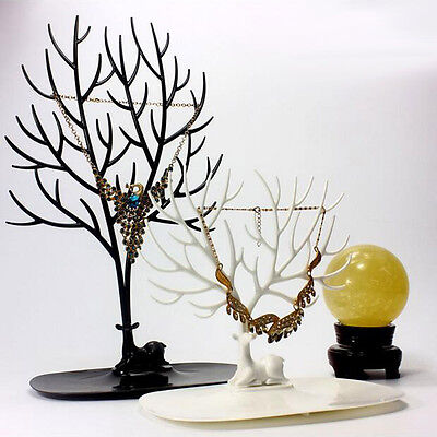 Deer Horn Jewelry Accessories Bracelet Necklace Display Rack Shelf Frame
