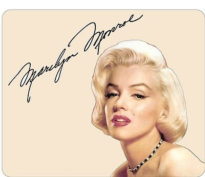Marilyn Monroe Portrait and Signature Mouse Mat