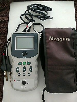 Priced to sell MEGGER CFL510F Cable Fault Locator
