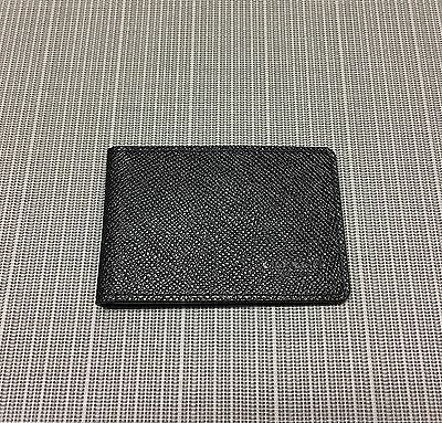 New Authentic Coach Men's Crossgrain Leather Slim ID Card Case