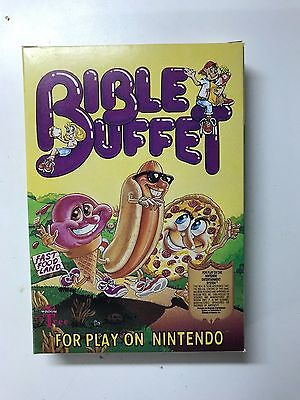 Bible Buffet (Nintendo Entertainment System) ORIGINAL BOX (GREAT CONDITION)