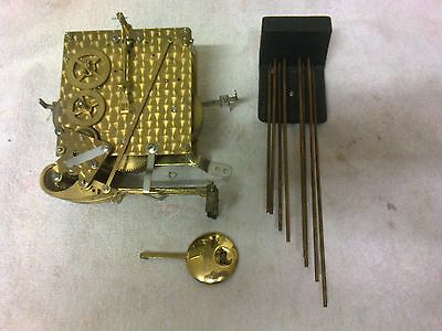 Clock  Parts ,   Very  Rare  Smiths  Movement, 8 Hammers