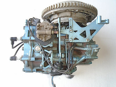 1960 Evinrude 18HP Model 15032 Good Powerhead w Ignition Fast Free Shipping