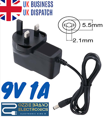 Quality Uk 9V 1A Ac/dc Power Supply Adapter For Roberts Classiclite Dab/fm Radio