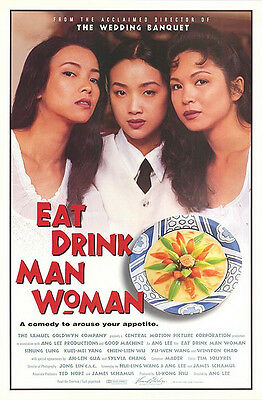 Eat Drink Man Woman (1994) Original Movie Poster  -  Rolled