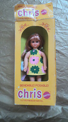 1973  Red Head Chris In Original Box - Great Doll ~~