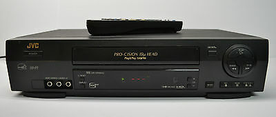 JVC HR-VP690 VHS VCR Video Cassette Recorder Player 4 Head HiFi with Remote