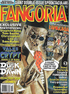 Fangoria #150 (1996, 140 page special, full colour) good as new
