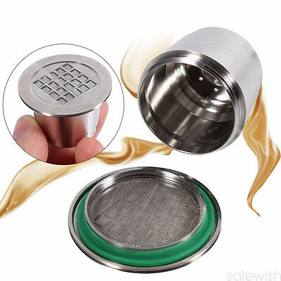 Refillable Reusable Capsules Pods Compatible For Nespresso Coffee Machine Good