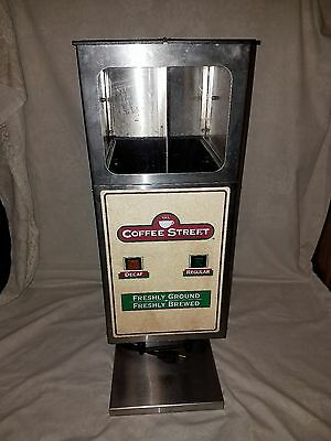 Curtis Dhg-10 -2  Double Hopper Commercial Coffee Grinder