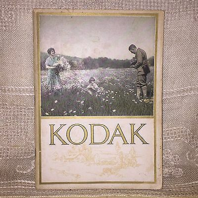 Vintage 1924 Eastman Kodak Camera And Accessories Catalog Catalogue Booklet