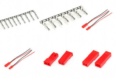 Pitch 2.54mm JST Male/Female Pin JST-2P Wire /Housing Crimp Terminals Connector