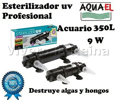 Lampara Germicida Esterilizador Uv As 9W Acuario