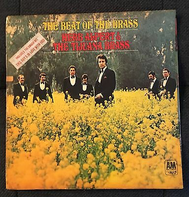 "Herb Alpert-The Beat Of The Brass-A&m Records-Amls 916-L.p 12"" Vinyl Recording"