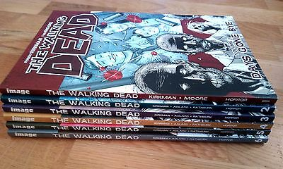 The Walking Dead Graphic Novels, vol. 1 - 6