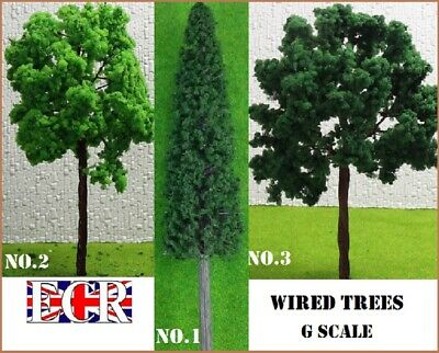 1:22.5-1:25 G Scale Trees & Fencing Garden Gauge Railway Train Scenery