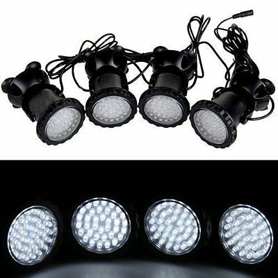 BEIYI R2202 Fishfun 4 X 36 Led White Outdoor Pond Lights Spotlight Perfect For
